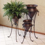 Planters with Stands