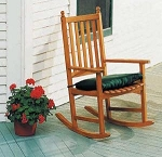 Patio Furniture Rocker Eucalyptus Grandis Natural