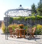 Gazebo Wrought Iron Adagio