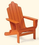 Patio Furniture Adirondack Chair Polyresin Capecod