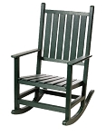 Patio Furniture Rocker Polyresin Hightide