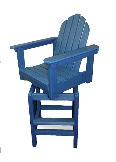 Patio Furniture Bar Stool Polyresin Swivel Adirondack