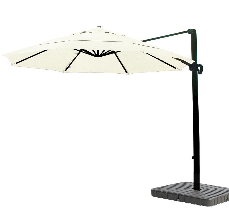 Cantilever Umbrella Aluminum 11 Foot Sunbrella Canvas