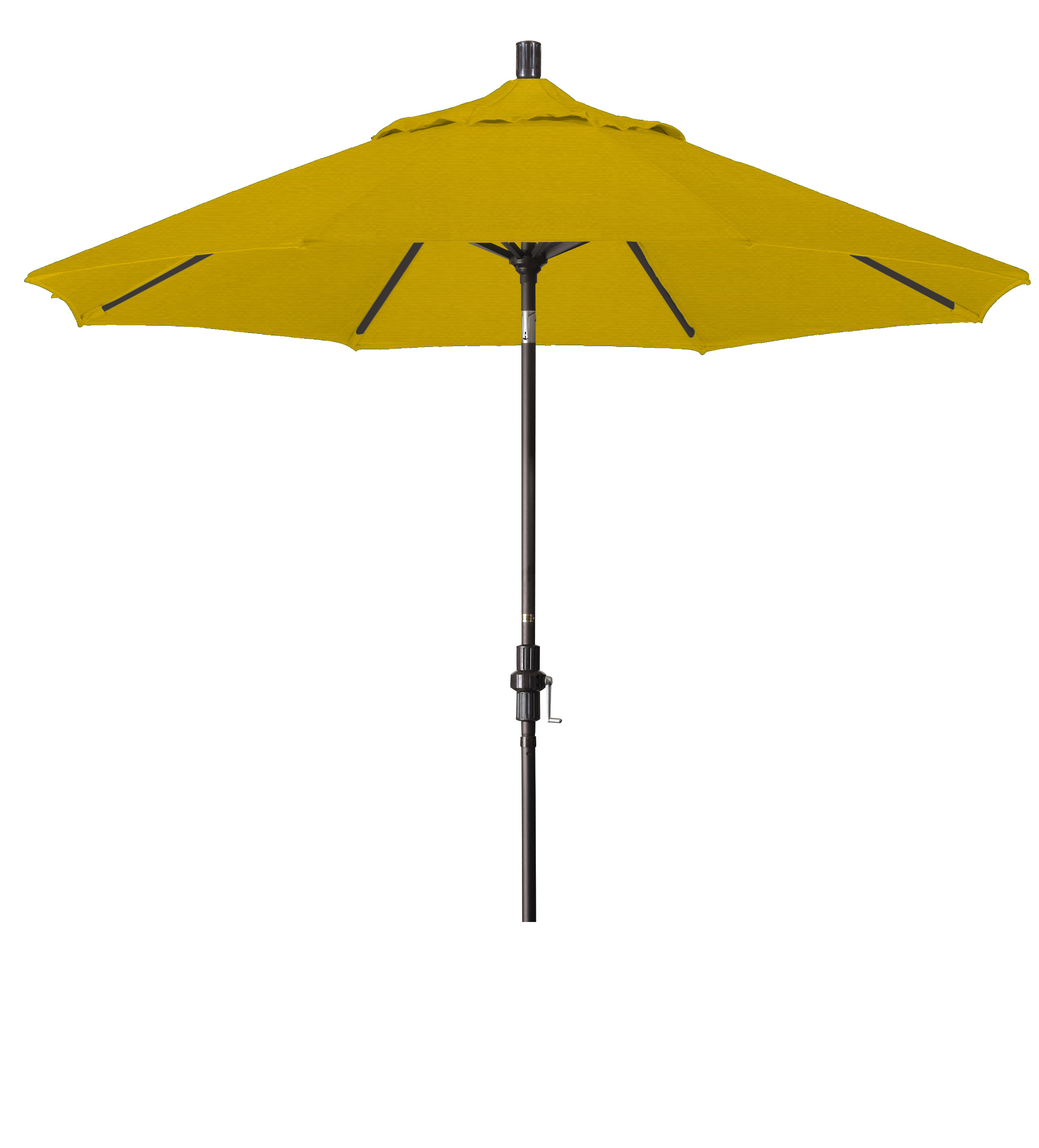 Market Umbrella Aluminum Collar Tilt Sunbrella Canvas