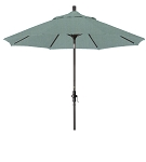 Market Umbrella Aluminum Collar Tilt Sunbrella Canvas Spa 5413
