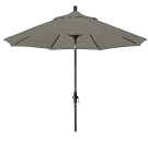 Market Umbrella Aluminum Collar Tilt Sunbrella Spectrum Dove 48032