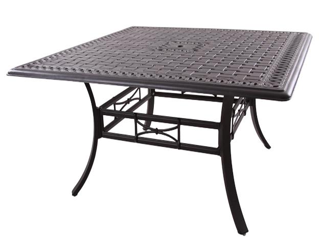 Patio Furniture Cast Aluminum/Sling Counter Height Bar