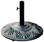 Umbrella Base Cast Aluminum/Cast Iron Universal