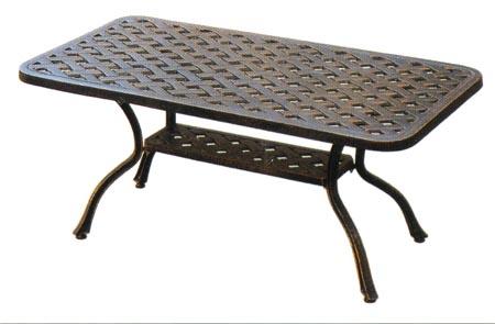 Patio Furniture Table Coffee Cast Aluminum Series 30