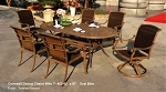 Patio Furniture Aluminum/Wicker Dining Set 7pc Cornwall