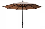 Market Umbrella Aluminum Frame 9' Collar Tilt Crank System (more colors)