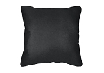 Throw Pillow in Sunbrella Flagship Black 40014-0008