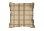 Throw Pillow in Sunbrella Holmes Latte 44098-0001