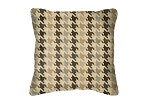 Throw Pillow in Sunbrella Bingham Graphite 45789-0000