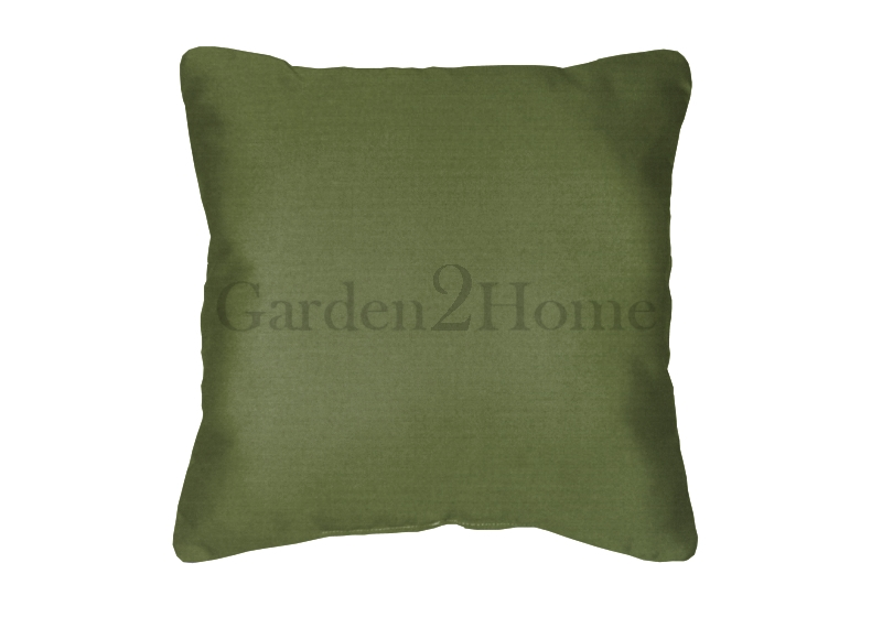 Throw Pillow In Sunbrella Canvas Palm Green 5421