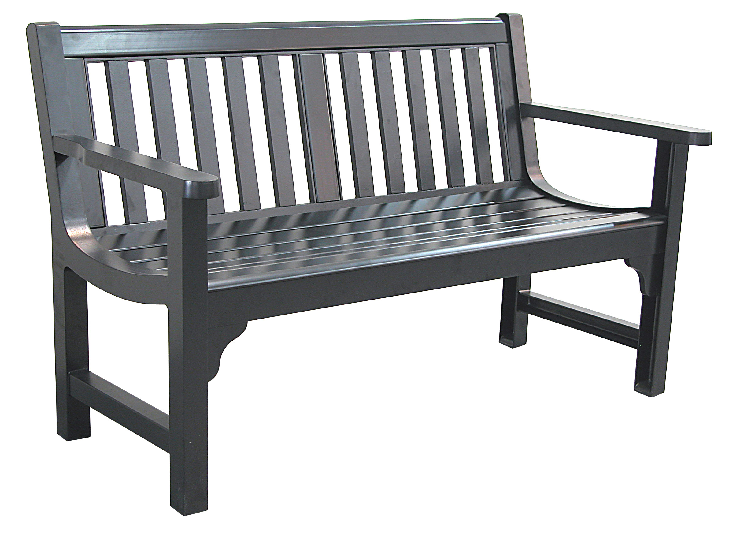 Patio furniture bench aluminum charleston Aluminum benches