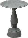 Birdbath Cast Aluminum & Iron Madison