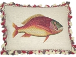 Needlepoint Pillow - Fish (22