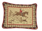 Needlepoint Pillow - Equestrian (20