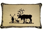 Needlepoint Pillow - Moose (24