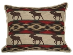 Needlepoint Pillow -  Moose (23