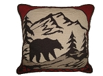 Needlepoint Pillow – Bear (20