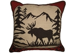 Needlepoint Pillow – Deer (20