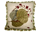 Needlepoint Pillow - Leaves (20
