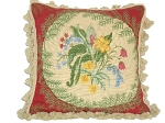 Needlepoint Pillow -  (18