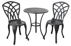 Patio Furniture Bistro Set Cast Aluminum Iron Concord p 6785 furthermore Magis Central Flip Top Bistro Table besides Outdoor Furniture likewise Outdoor Bistro Patio Sets together with B 1024056. on small bistro table and chairs