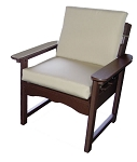 Patio Furniture Deep Seating Arm Chair Polyresin Garden