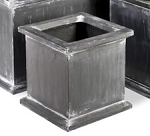 Planter Fiberglass Resin Grosvenor Cube