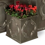 Planter Fiberglass Resin Hampton Cube