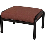 Patio Furniture Deep Seating Ottoman Cast Aluminum St. Cruz