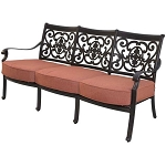Patio Furniture Deep Seating Sofa Cast Aluminum St. Cruz