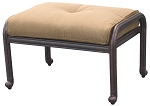 Patio Furniture Deep Seating Ottoman Cast Aluminum Santa Monica