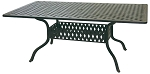 Patio Furniture Table Dining Cast Aluminum 42