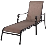Patio Furniture Aluminum/Sling Chaise Lounge Monterey
