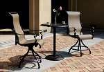 Patio Furniture Bistro Set Cast Aluminum Pub 3pc Monterey
