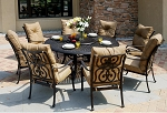 Patio Furniture Dining Set Cast Aluminum 71