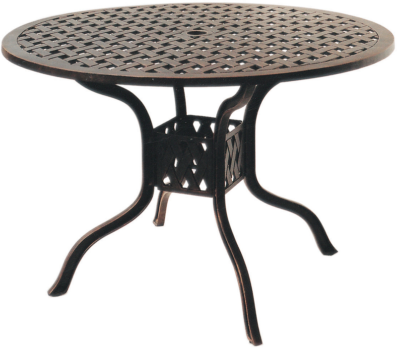 42 dining table square patio furniture dining set cast aluminum 42