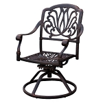 Patio Furniture Rocker Swivel Cast Aluminum (Set/2) Lisse