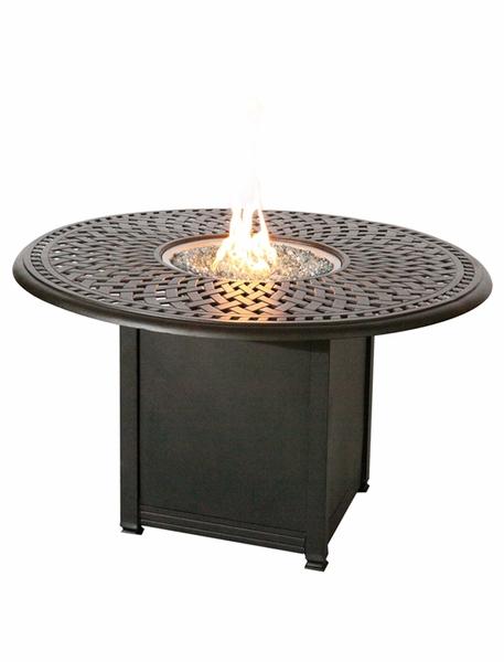 Patio Furniture Dining Set Cast Aluminum 60 Quot Round Counter
