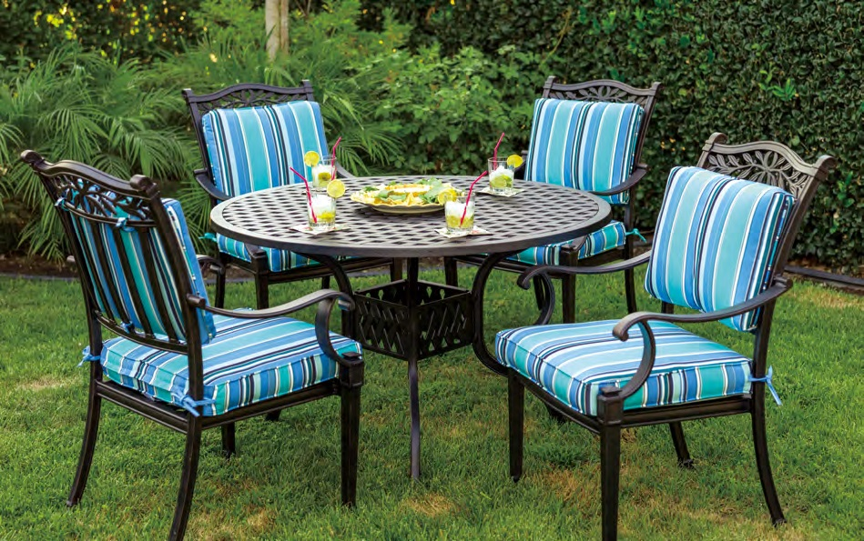Patio Furniture Dining Set Cast Aluminum 42 Quot Or 48 Quot Round