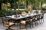 Patio Furniture Dining Set Cast Aluminum 120
