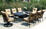 Patio Furniture Dining Set Cast Aluminum  92
