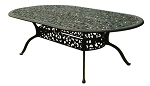 Patio Furniture Table Dining Cast Aluminum 96