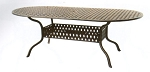 Patio Furniture Table Dining Cast Aluminum 84