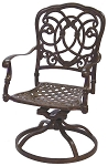Patio Furniture Rocker Swivel Cast Aluminum (Set/2) Florence