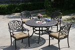 Patio Furniture Cast Aluminum Dinining Set 52
